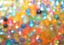 Kolorowe bokeh piłki Obraz Stock