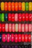 kolorowe bransoletki Zdjęcia Stock