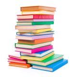 Kolorowe brogować książki Obrazy Royalty Free