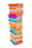 Kolorowe brogować książki Fotografia Stock
