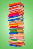 Kolorowe brogować książki Obraz Royalty Free