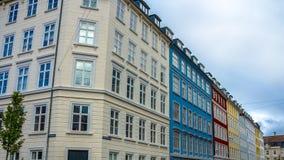 kolorowe budynków Obraz Stock