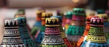 kolorowe butelek Obrazy Royalty Free