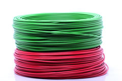 kolorowe cable Fotografia Stock