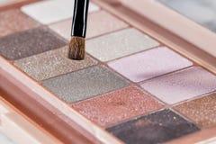 Kolorowe cienia oka próbki Obraz Stock