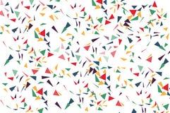 Kolorowe cząsteczki Zdjęcia Royalty Free
