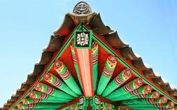 kolorowe dach Zdjęcie Royalty Free