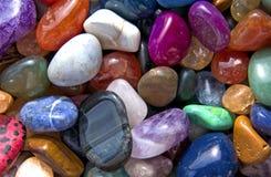 kolorowe deseniowe skały Obraz Stock