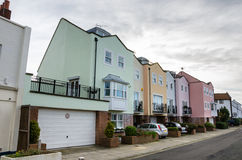 kolorowe domów obraz stock