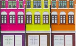 kolorowe domów obrazy stock