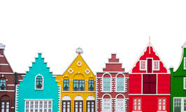 kolorowe domów zdjęcie royalty free