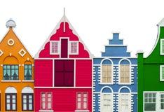 kolorowe domów fotografia stock
