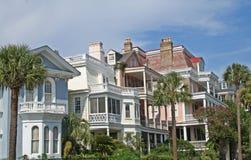 kolorowe domu rząd Zdjęcia Royalty Free