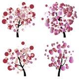 kolorowe drzewo Zdjęcie Stock