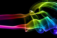 kolorowe dym abstrakcyjne Zdjęcia Royalty Free