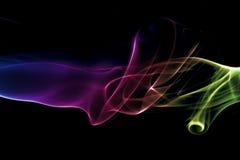 kolorowe dym abstrakcyjne Obraz Royalty Free
