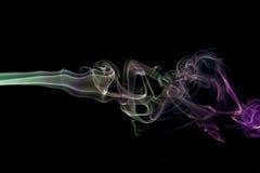 kolorowe dym abstrakcyjne Zdjęcie Royalty Free