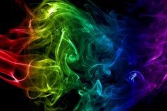 kolorowe dym abstrakcyjne Zdjęcia Stock