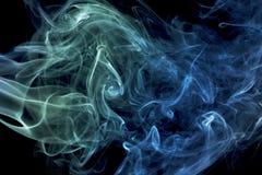 kolorowe dym abstrakcyjne Obrazy Stock