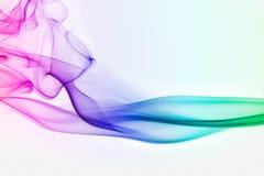 kolorowe dymu Obraz Stock