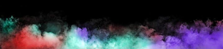 kolorowe dymu zdjęcia stock
