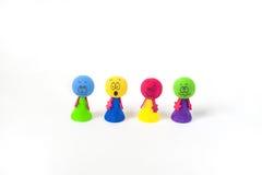 Kolorowe emocje Obraz Royalty Free