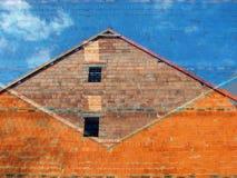 kolorowe exterior do domu Fotografia Royalty Free