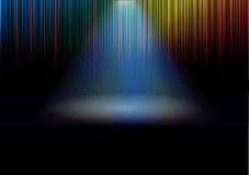 Kolorowe fala Zdjęcia Stock