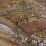 Kolorowe fala w naturalnej skale obrazy stock