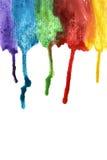Kolorowe farb smugi obrazy stock