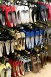 kolorowe fashonable buty Zdjęcie Stock