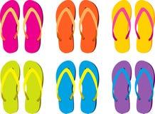 kolorowe flip zawory Obraz Stock