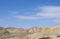 Kolorowe góry Zdjęcie Royalty Free