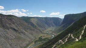 Kolorowe góry Altai zbiory wideo