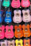 kolorowe gitary Fotografia Stock