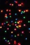 kolorowe gwiazdy Fotografia Stock