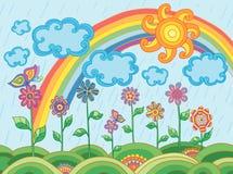 Kolorowe ilustracje Obraz Stock
