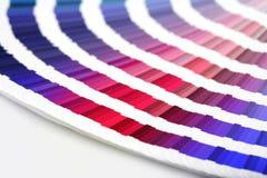 kolorowe kolorów przewodnika mecz Zdjęcie Royalty Free