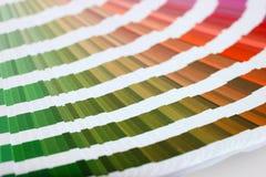 kolorowe kolorów przewodnika mecz Fotografia Royalty Free