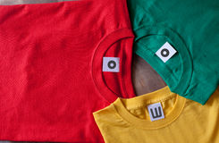 kolorowe koszule t Zdjęcie Royalty Free