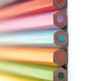 kolorowe kredki Zdjęcie Royalty Free