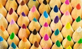 kolorowe kredki Obrazy Royalty Free