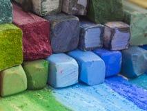 kolorowe kredki Zdjęcie Stock