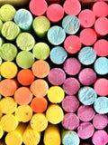 kolorowe kredowy Zdjęcia Stock