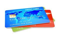 Kredytowe karty Zdjęcie Royalty Free
