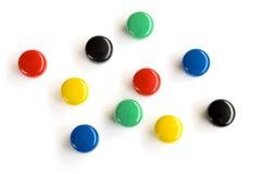 kolorowe kropki Zdjęcie Stock