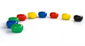 kolorowe kropki Fotografia Stock