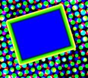 kolorowe kropki copyspace ilustracji