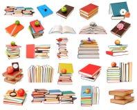 Kolorowe książki Obraz Royalty Free