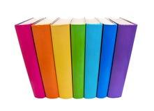 Kolorowe książki Zdjęcia Royalty Free